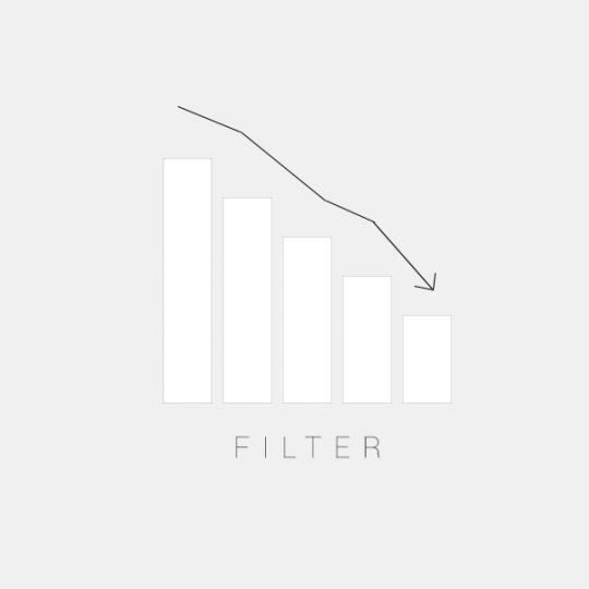 Minska din filterförbrukning