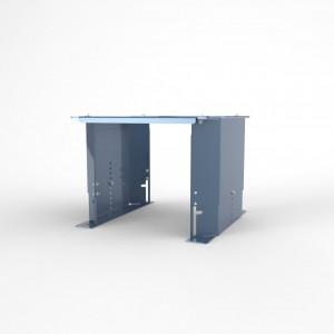 Adjustable console for BLUE LINE oil mist separators